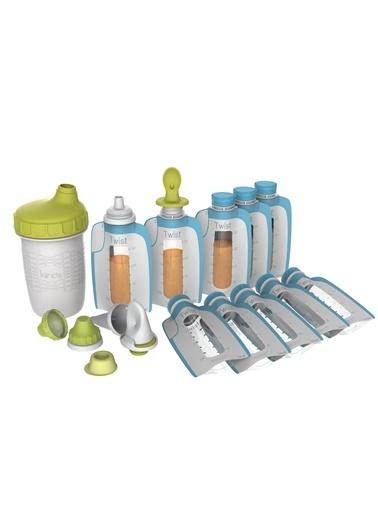 Kiinde Bebek Beslenme Ürünleri-Foodii Baslangic Seti Renkli